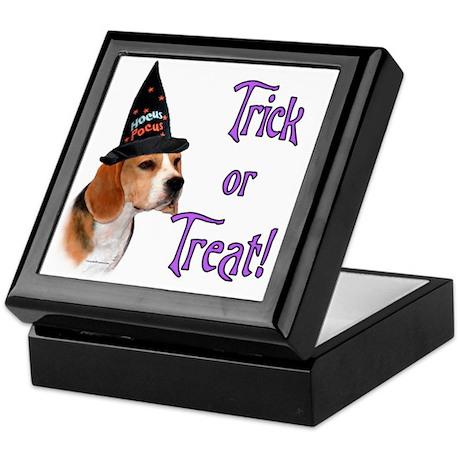 Beagle Trick Keepsake Box