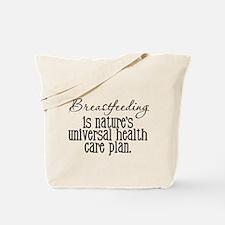 Proud Breast Feeding Tote Bag