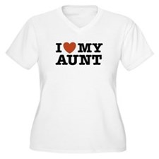 I Love My Aunt T-Shirt