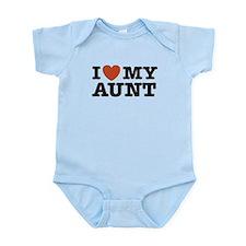 I Love My Aunt Infant Bodysuit