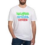 Imagine Create Write Fitted T-Shirt