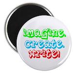 Imagine Create Write Magnet