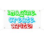 Imagine Create Write Banner