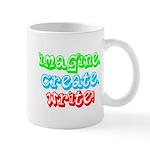Imagine Create Write Mug