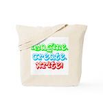 Imagine Create Write Tote Bag
