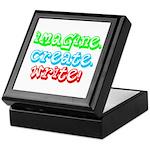 Imagine Create Write Keepsake Box