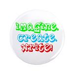 "Imagine Create Write 3.5"" Button (100 pack)"