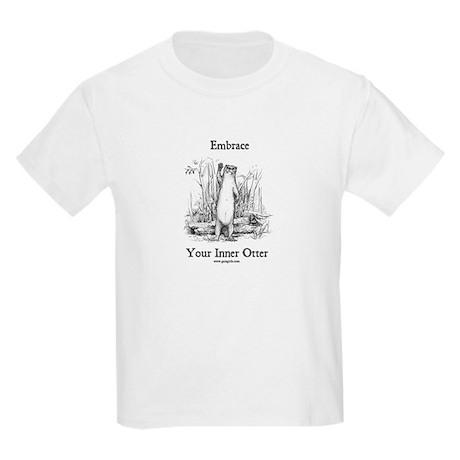 Otter Kids T-Shirt www.gaiagirls.com