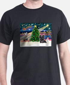 Xmas Magic & Skye Terrier T-Shirt