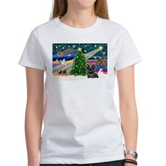 Xmas Magic & Skye Terrier Tee