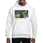 Xmas Magic / Skye Terri Hooded Sweatshirt