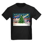 Xmas Magic / Skye Terri Kids Dark T-Shirt