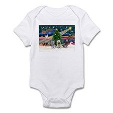 Xmas Magic & Skye Trio Infant Bodysuit