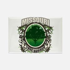 Tree Hugger Missouri Rectangle Magnet
