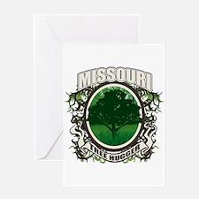 Tree Hugger Missouri Greeting Card