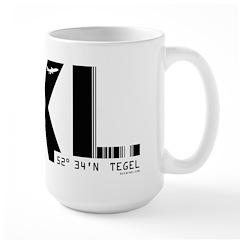 Berlin Tegel Airport Code Germany TXL Large Mug