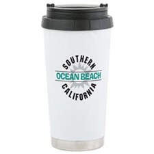 Ocean Beach California Travel Mug