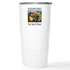 Support Your Local Farmer Travel Mug