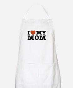 I Love My Mom BBQ Apron