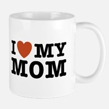 I Love My Mom Small Small Mug