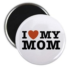 I Love My Mom Magnet