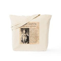 Tom Custer Tote Bag