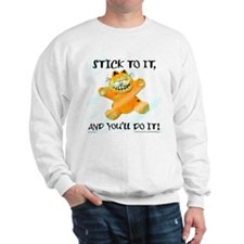 Stick to it Garfield Sweatshirt