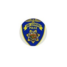 San Leandro Police Mini Button