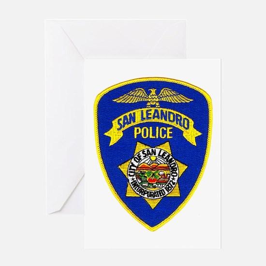 San Leandro Police Greeting Card
