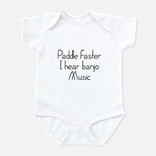 Paddle Faster I Hear Banjo Music Infant Bodysuit