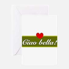 ciao bella Greeting Card
