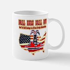 Drill here drill drill now Mug