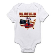 Drill here drill drill now Infant Bodysuit
