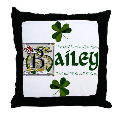 Bailey Celtic Dragon Throw Pillow