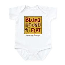 Blues Hound Flat Infant Bodysuit