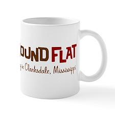 Blues Hound Flat Mug