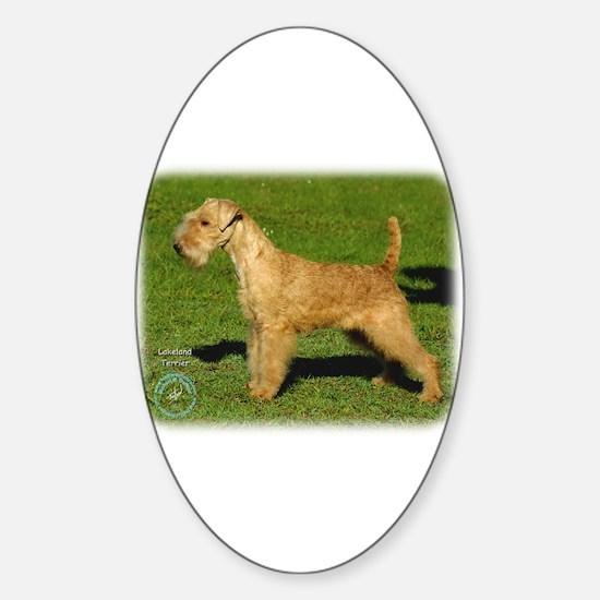 Lakeland Terrier 9P002D-026 Sticker (Oval)