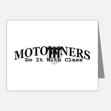 Motowners... Note Cards (Pk of 10)