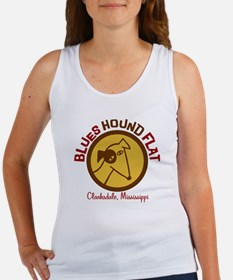 Blues Hound Flat Women's Tank Top