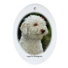 Lagotto Romagnollo 9M048D-18 Ornament (Oval)