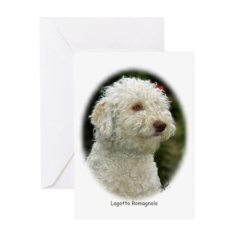 Lagotto Romagnollo 9M048D-18 Greeting Card