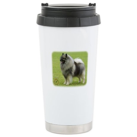 Keeshond 9J28D-01 Stainless Steel Travel Mug