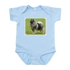 Keeshond 9J28D-01 Infant Bodysuit