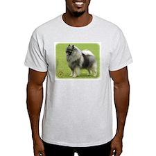 Keeshond 9J28D-01 T-Shirt