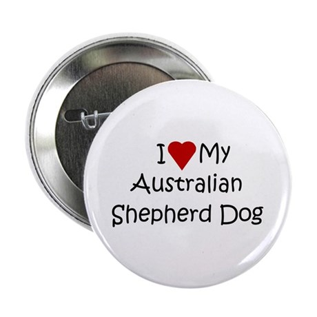 "Australian Shepherd Dog 2.25"" Button (100 pack)"