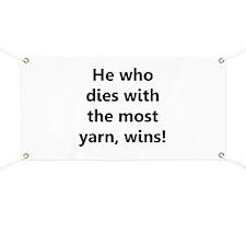 Funny Yarnaholic Banner