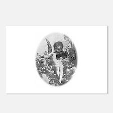 cherub plays violin Postcards (Package of 8)