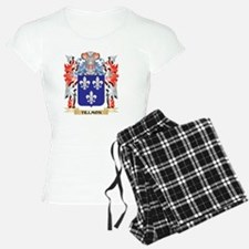 Tillmon Coat of Arms - Family Crest Pajamas