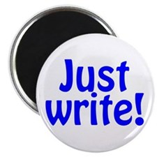 "Just Write 2.25"" Magnet (10 pack)"