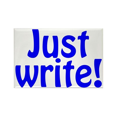 Just Write Rectangle Magnet (10 pack)